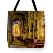 Prayers In The Cathedral Tote Bag