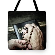 Praying For A Change Tote Bag