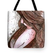 Praying For Rain Tote Bag