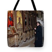 Praying In Jericho Tote Bag