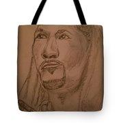 Praying Man  Tote Bag