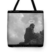 Praying Monk - Arizona - Poster Print Tote Bag
