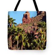 Praying Monk Tote Bag
