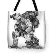 Praying Soldier Tote Bag