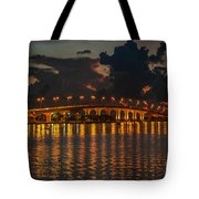 Pre-dawn Causeway View Tote Bag