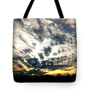 Pre-sunset Tote Bag