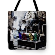Preacher Sharing Scripture Tote Bag
