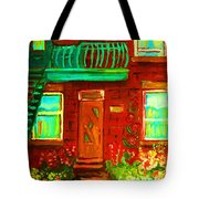 Precious Green Space Tote Bag