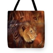 Predator And Prey Tote Bag