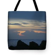 Predawn At The Jetty Tote Bag