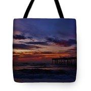 Predawn Avon Pier 2 4/10 Tote Bag