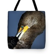 Preening Tote Bag by Marty Koch