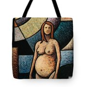 Pregnant Tote Bag