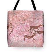 Prehistoric Hunter Tote Bag