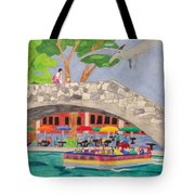 Prehistoric Riverwalk Tote Bag