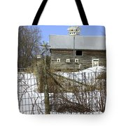 Premium Bird House View Tote Bag