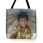 Prepared For Rain Tote Bag