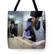 Preparing Matzah Israel Tote Bag