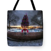 Prescott Park Christmas Tree Tote Bag