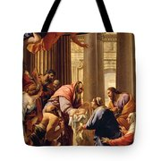 Presentation In The Temple Tote Bag by Simon Vouet