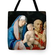 Presentation Of Christ In The Temple Tote Bag