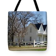 President Dewight Eisenhower Birthplace Tote Bag