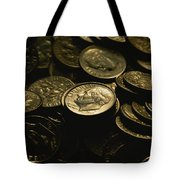President Franklin Roosevelts Profile Tote Bag