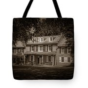 President James Buchanan's Wheatland In Sepia Tote Bag