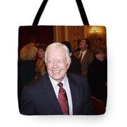 President Jimmy Carter - Nobel Peace Prize Celebration Tote Bag