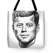 President John F. Kennedy Tote Bag