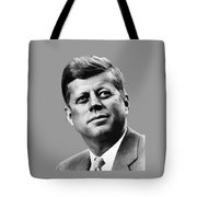 President Kennedy Tote Bag by War Is Hell Store