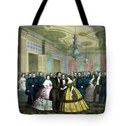 President Lincoln's Last Reception Tote Bag