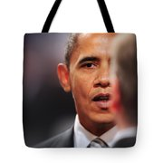 President Obama II Tote Bag