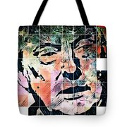 President Of The United States Donald Trump Tote Bag