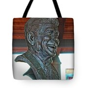 President Reagan Bust Tote Bag