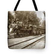 President William Mckinleys Presidential Locomotive No. 1456  May 1901 Tote Bag