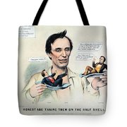 Presidential Campaign, 1860 Tote Bag