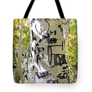 Presidential Tree Tote Bag