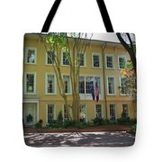 President's Residence University Of South Carolina Tote Bag