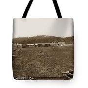 Presidio Of Monterey, Cal. Circa 1910 Tote Bag