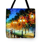 Prespective Of The Night Tote Bag