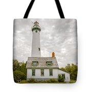 Presque Isle Lighthouse  - Lake Huron, Lower Peninsula, Mi Tote Bag