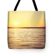 Presque Isle Sunset Tote Bag