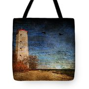 Presquile Lighthouse Tote Bag