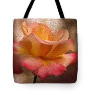 Pressed Against My Heart Tote Bag