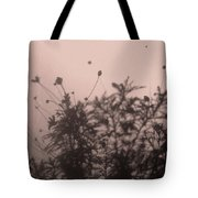 Pressed Daisy Bush Pink Tote Bag