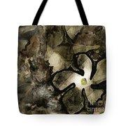 Pressed Flower Tote Bag