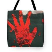 Pressing Terror Tote Bag