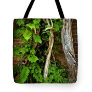 Preston Wall Vine Tote Bag