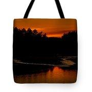 Presumpscot Sunset No.101 Tote Bag